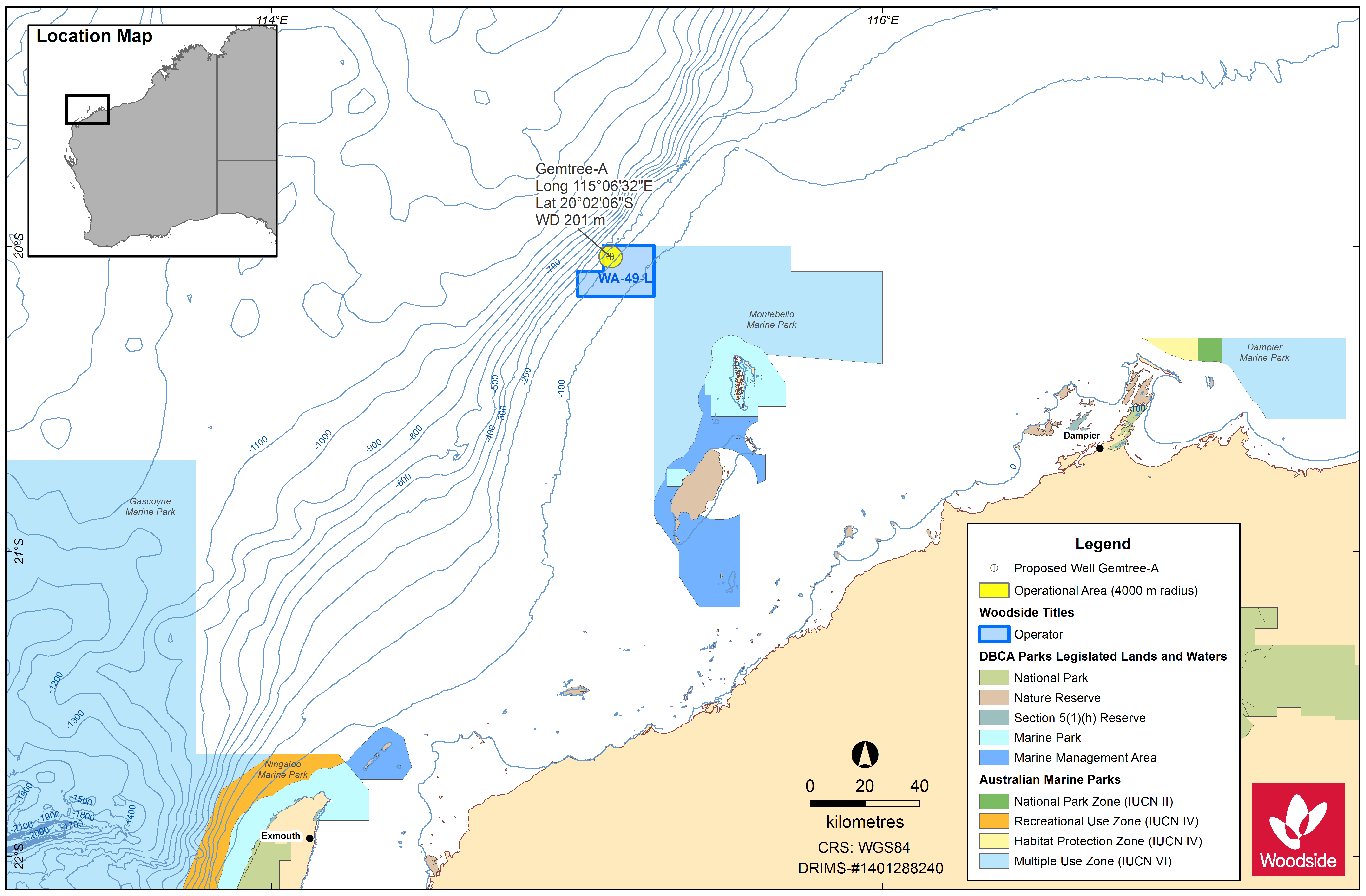 Location map - Activity: WA-49-L Gemtree Exploration Drilling  (refer to description)